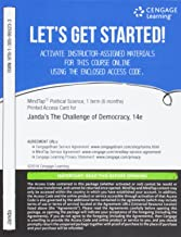 MindTap Political Science, 1 term (6 months) Printed Access Card for Janda/Berry/Goldman/Schildkraut/Manna's The Challenge of Democracy: American Government in Global Politics, 14th