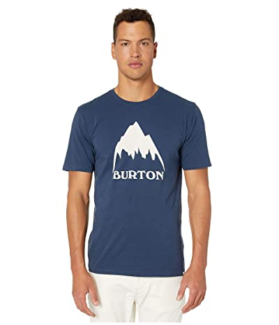 Burton Classic Mountain Short Sleeve Tee (Dress Blue) Men