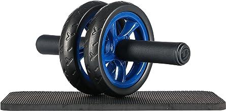 Ultrasport Buiktrainer AB Roller / AB trainer incl. kniesteun, buiktraining voor mannen en vrouwen, buikspierroller met mu...