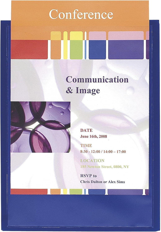 Exacompta 43502E 43502E 43502E Präsentationsmappen (PP, Krea Cover, DIN A4) 10 Stück blau B004W6KFVW | Auktion  b35be0