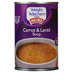 Weight Watchers from Heinz Carrot & Lentil Soup 295g