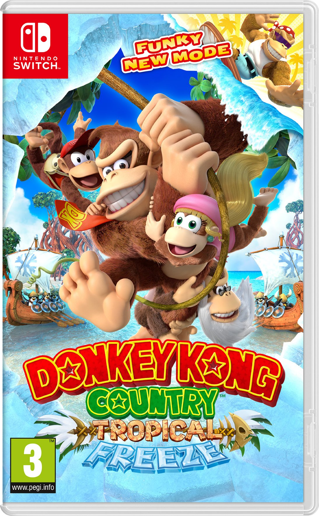 Donkey Kong Country: Tropical Freeze - Nintendo Switch ...