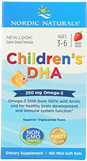 NORDIC NATURALS Child's DHA Formula 250 MG, 180 CT