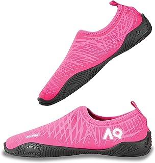 AQURUN Pink Swimming & Water Games Shoe For Girls
