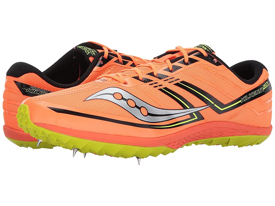 Saucony Kilkenny XC7 (Vizi Orange/Citron) Men