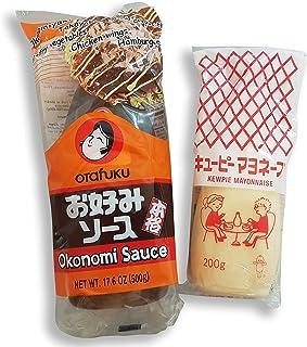 Okonomiyaki Zutaten Okonomi-Sauce Soße, japanische Mayonnai