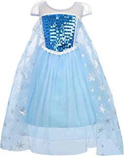 Dressy Daisy Girls Princess Elsa Dress Up Costumes Halloween Fancy Party Dresses