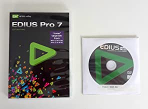 Grass Valley EDIUS Pro 7 Nonlinear Video Editing Software, Retail Box/Educational