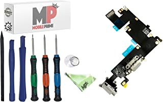 MobilePrime Gray Charging Port Replacement Kit Compatible for iPhone 6 Plus (A1522, A1524, A1593) Including Pro-Series Repair Tools