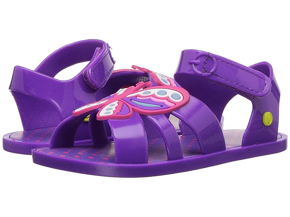 Western Chief Kids Sandbox Sandal (Toddler/Little Kid) (Purple Butterfly) Girls Shoes