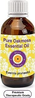 Deve Herbes Pure Oakmoss Essential Oil (Evernia prunastri) 100% Natural Therapeutic Grade Steam Distilled 15ml (0.50 oz)