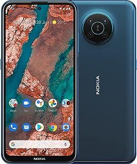 "Nokia X20 5G Smartphone, Dual SIM, 8GB RAM, 128GB ROM, 64MP quad camera with ZEISS Optics, 6.67"" Full HD+ display, durable..."