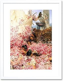 The Art Stop Painting ALMA-Tadema Roses of HELIOGABALUS Detail Framed Print F12X3859