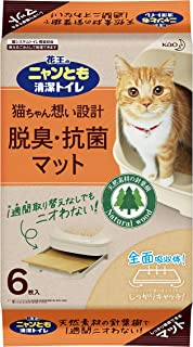 花王 ニャンとも清潔トイレ 脱臭・抗菌マット 6枚入り [猫用トイレ]