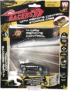 RC Pocket Racers Micro Car AS SEEN ON TV Phantom Black