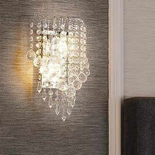 Aplique de pared moderno de cristal E14, aplique para el restaurante del pasillo de la habitación