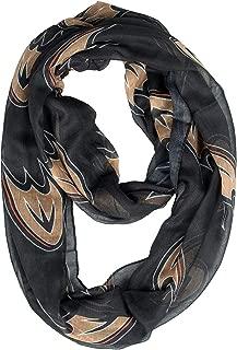 Littlearth NHL Anaheim Ducks 500615-Duck-Altsheer Infinity Scarf Alternate, Multicolor, One Size