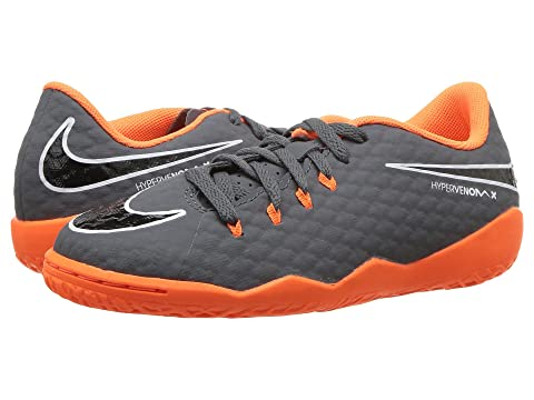 5d514666e84 Nike Kids Jr. Hypervenom PhantomX 3 Academy Dynamic Fit IC Soccer (Toddler Little  Kid Big Kid)
