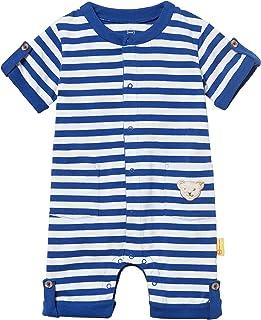 Blau original Multicolored 0004 86 Steiff Baby-Jungen wendbar Jacke