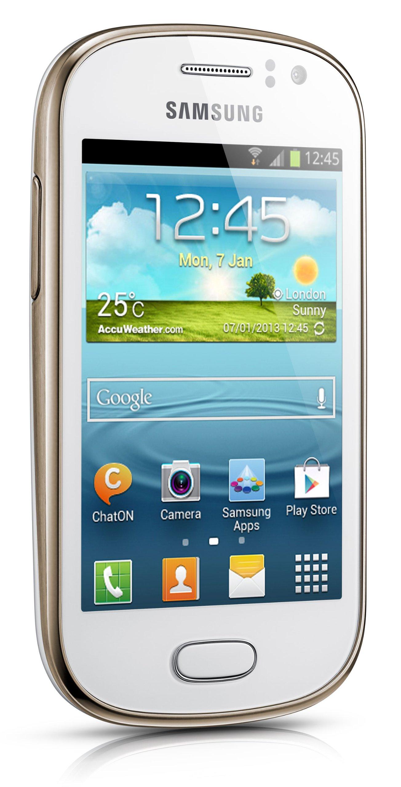 Samsung Galaxy Fame S6810 - Smartphone libre Android (pantalla 3.5 ...