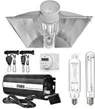 iPower 600 Watt HPS MH Digital Dimmable Ballast Grow Light System Kits Horticulture Cool Tube Reflector Set XL Wing