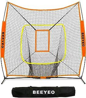 Sponsored Ad - BEEYEO Baseball & Softball Net for Hitting & Pitching | Heavy Duty 7x7 Pro Series | Indoor & Outdoor Traini...