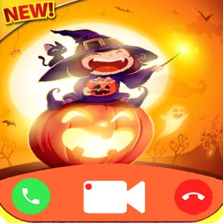 fake call Halloween game Free Fake Phone Call ID PRO - PRANK Fake Texte Message
