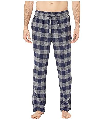 J.Crew Flannel Lounge Pant in Buffalo Check (Buffalo Check Grey/Navy) Men