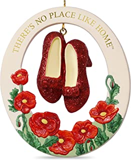 Hallmark Keepsake 2017 THE WIZARD OF OZ THERE'S NO PLACE LIKE HOME RUBY SLIPPERS..