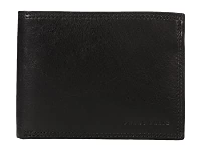 Perry Ellis Portfolio RFID Passcase (Black) Bi-fold Wallet