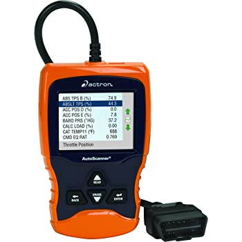 Actron CP9670 AutoScanner Trilingual OBD II, CAN, and ABS Scan Tool with Color Screen for 1996 and Newer Vehicles