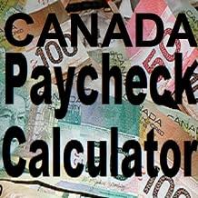 Canada Paycheck Calculator ( no Advertisements )