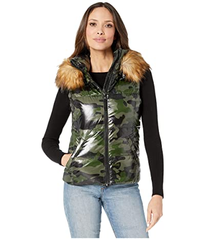 S13 Camo Snowcat Vest (Green Camo) Women