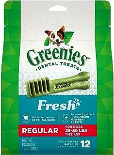 Greenies Freshmint Dental Treat for Regular Dog 340 g, 12 oz