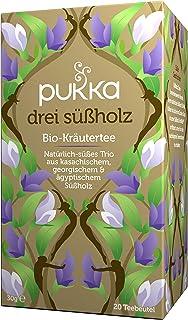 Pukka Bio-Tee Drei Süßholz 80 Teebeutel, 4er Pack 4 x 20 beutel