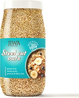 JIWA healthy by nature Steel Cut Oats, 1 Kg (Gluten Free)