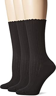 Ladies Gentle Grip Loose Wide Top Non-Binding Bamboo Socks Hearts Dots Stripes