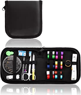 CampTek Sewing Kit,Portable Sew Kit for Emergency Repairs, A Basic Clothing Repair Kit for Home,Office,Travel,Outdoor Survival,Beginner,Student
