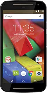 Motorola Moto G 4G 5-Inch 2nd Generation Factory Unlocked Smartphone - Black