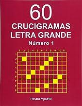60 Crucigramas Letra Grande - N. 1: Volume 1