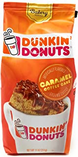Dunkin Donuts Ground Coffee. (Pack of 2) (Caramel Coffee Cake)