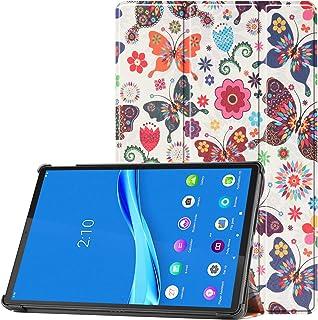 HoYiXi Custodia per Lenovo Tab P11 TB-J606F 11 Pollice 2020 Tablet PU Custodia Ultra Sottile Tri-Fold Custodia Protettiva ...