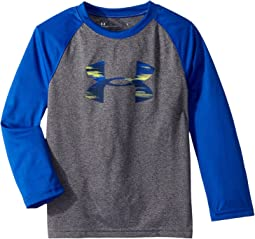 Under Armour Kids - Accelerate Big Logo Long Sleeve (Little Kids/Big Kids)