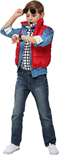 Marty McFly Puffer Vest Costume Back to the Future Child Marty McFly Costume