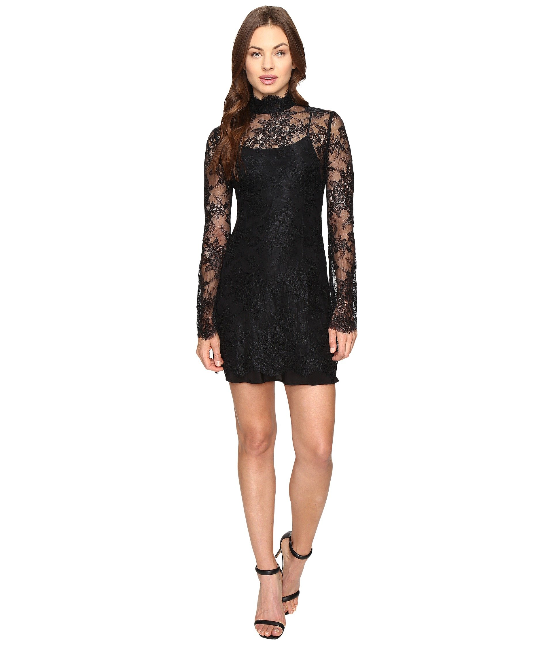 STONE COLD FOX Kerr Dress, Black
