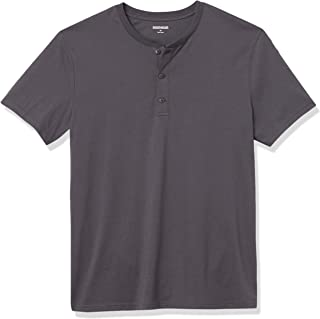 Marca Amazon - Goodthreads Cotton Short-sleeve Henley - henley-shirts Hombre