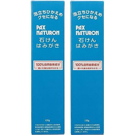PAX NATURON(パックスナチュロン) 【まとめ買い】 石けんはみがき 120g×2個 120グラム (x 2)