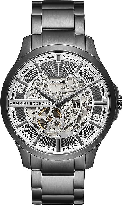 orologio armani exchange analogico quarzo uomini con cinturino in acciaio inox ax2417
