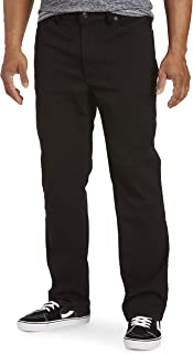 True Nation by DXL Big and Tall Athletic-Fit Jeans, Black