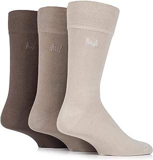 6 Pairs Mens  Pringle of Scotland Classic Bamboo Low Cut No Show Socks Size 6-10